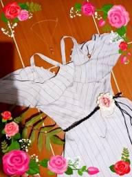 Título do anúncio: 40,00 !!!Lindo vestido primavera e vestido chifon
