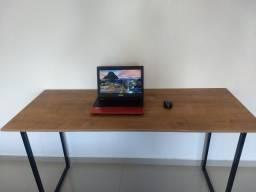 Escrivaninha para notebook estilo industrial / home home office