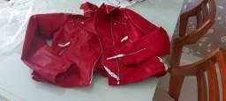 Jaqueta  vermelha tamanho M