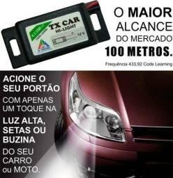Título do anúncio: Motor de portao vendemos; Controle Remoto Para Portão Acionamento Farol Carro Tx Car