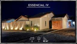 A Melhor casa do Condomínio Essencial IV, 113 mt2 de terreno - Jardim Paris - Ourinhos/SP