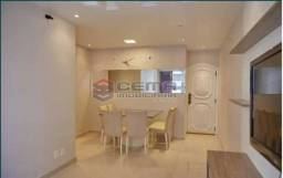 Apartamento à venda com 3 dormitórios em Flamengo, Rio de janeiro cod:LAAP34393