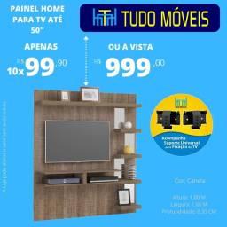 "PAINEL PARA TV ATE 50"" (BRINDE SUPORTE UNIVERSAL)"