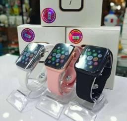Smartwatch X8Novo. Na caixa