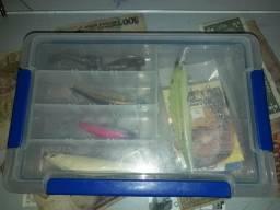 Tenho esse kit pesca. usado leia