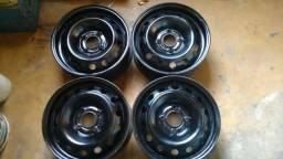 Rodas de ferro aro 13-14-15