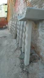 Lixeiras de Cimento (Concreto)