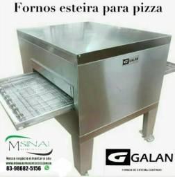 Forno para pizza e esfihas a gas ggalan