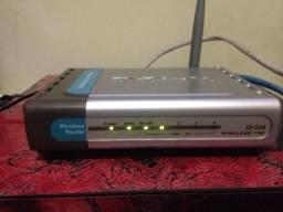 Roteador Dlink Di-524/150 Wireless 4 Portas 150mbps
