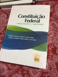 Livro da constituição federal comparada e anotada(editora conceito)
