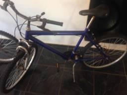 Bicicleta aro 26 18marchas azul