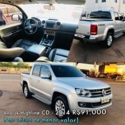 Amarok Highline CD 4x4 aut - 2014