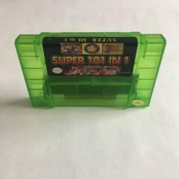 Cartucho super Nintendo 101 jogos