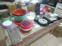 Bacias e potes Tupperware, térmicas, saleiro, travessas e bacias em geral