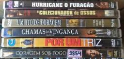 Lote com 42 DVDs Originais