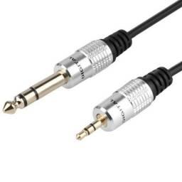 Cabo De Audio P2 X P10 Stereo 1 Metros