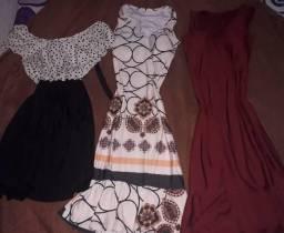 Troco 3 vestidos