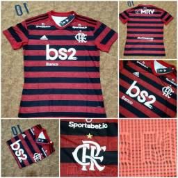 Flamengo home queima de estoque