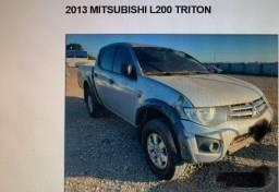 L200 triton. 4x4 2013 Prata - 2013