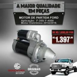 Motor de partida original ford