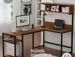Móveis estantes mesas. estilizados ou sob medida