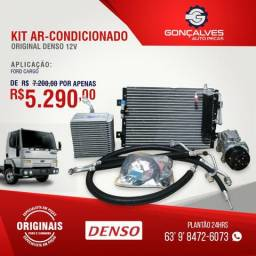 Kit ar-condicionado original denso ford cargo 12v