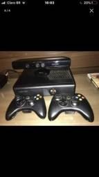 Xbox 360 + kinect e controle, usado comprar usado  Brasilia