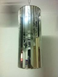 Cilindro espelhado Dj decoração
