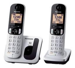 Telefone S/fio Dect6.0 Panasonic Kx-tgc212lb1 110/220v