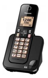 Telefone sem fio Panasonic KX-TGC350LBB preto