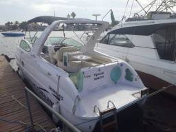 Lancha coral angra 29 full cabinada 2 motores disel 220 mil comprar usado  Duque de Caxias