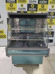 Balcão Klima Spazio caixa 90cm inox nunca usado Frete Grátis