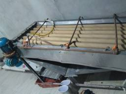 Máquina industrial de decascar camarão