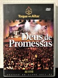 DVD original Toque no Altar - Deus de Promessas (ao vivo)