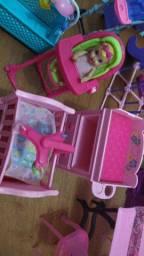 Kit bebê da Barbie