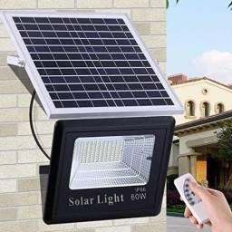 Refletor Solar 60w (c/ controle)