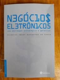Livro Negócios Eletrônicos uma abordagem estratégica e gerencial