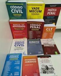 Kit livros de direito