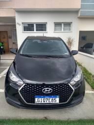 Vendo Hyundai HB20 Unique flex 1.0 preto 2019 TOP!!!