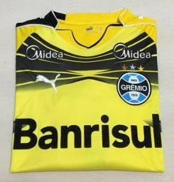 Camisa Grêmio Goleiro Puma M Nº 1 - Banrisul (2010)
