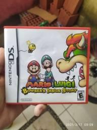 Jogo Cartucho Original Nintendo DS Mario & Luigi Bowser's Inside Story COMPLETO