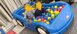 Cama Little Tikes piscina de bolinha playground Brinquedos