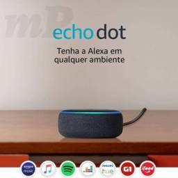 Echo Dot Amazon 3ª Geração C/ Alexa-smart Speaker Wi-fi
