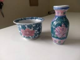 Conjunto porcelana pintada