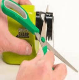 Afiador Amolador Eletrico Faca Tesoura Chave De Fenda Lamina