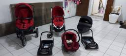 Título do anúncio: Carrinho importado bebé confort high trek