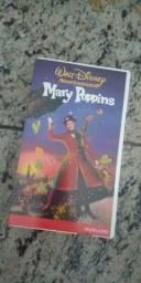 Fitas VHS Mary Poppins da Disney. Raridade.