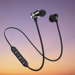 Fones de Ouvido Sem Fio Bluetooth Magnético 2pcs Promoção