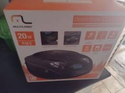 Título do anúncio: Som Portátil Boombox Multilaser 5 em 1