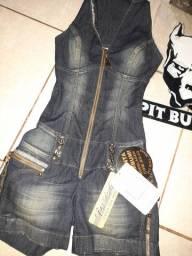 Vendo roupas da Pit bull jeans original novas